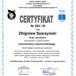 Zbigniew-Szarzyński-Certyfikat-PCA-263-III